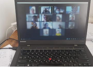 Online group mentoring at Lamerhav Hod Hasharon