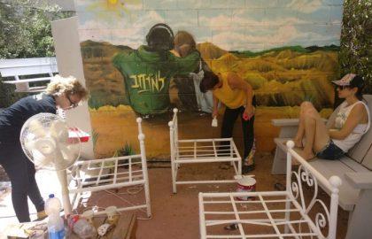 כוחה של קהילה: שיפוץ בית 'למרחב' באר שבע