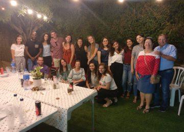 ערב סיום שנה בבית 'למרחב' באר שבע