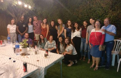 End of Year celebration at Lamerhav House in Beer Sheva