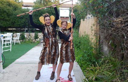 מסיבת פורים-האלווין : תכנית 'שותפים לדרך' בבאר שבע