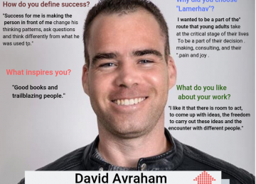 Meet the team: David Avraham