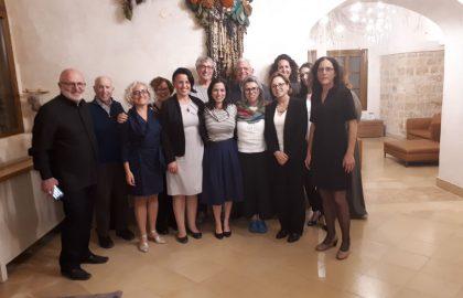 מפגש שותפים של יוזמת 'עובדים ביחד'