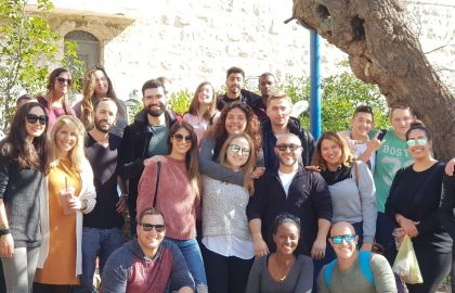 Jerusalem Weekend for 'Lamerhav' Afula participants