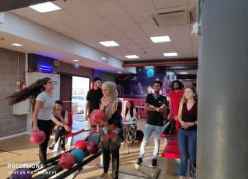 Bowling Night Out for Stage Three Young Adults