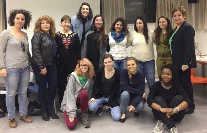 מפגש סיכום לקבוצת 'צעירות לקריירה' בשיתוף עם נשות אריה יהודה